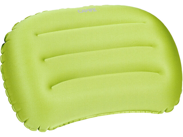 CAMPZ Curved Air Pillow applegreen/grey
